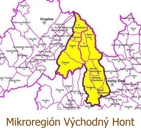 logo Mikroregión Východný hont